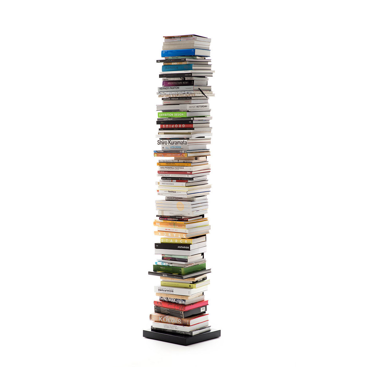 Libreria ptolomeo art h 215 cm nera by opinion ciatti for Libreria ptolomeo