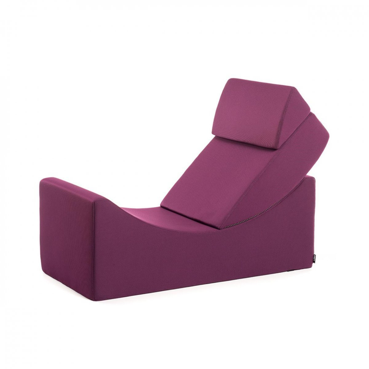 Chaise longue Moon Kids con poggiatesta pieghevole by LINA | LOVEThESIGN