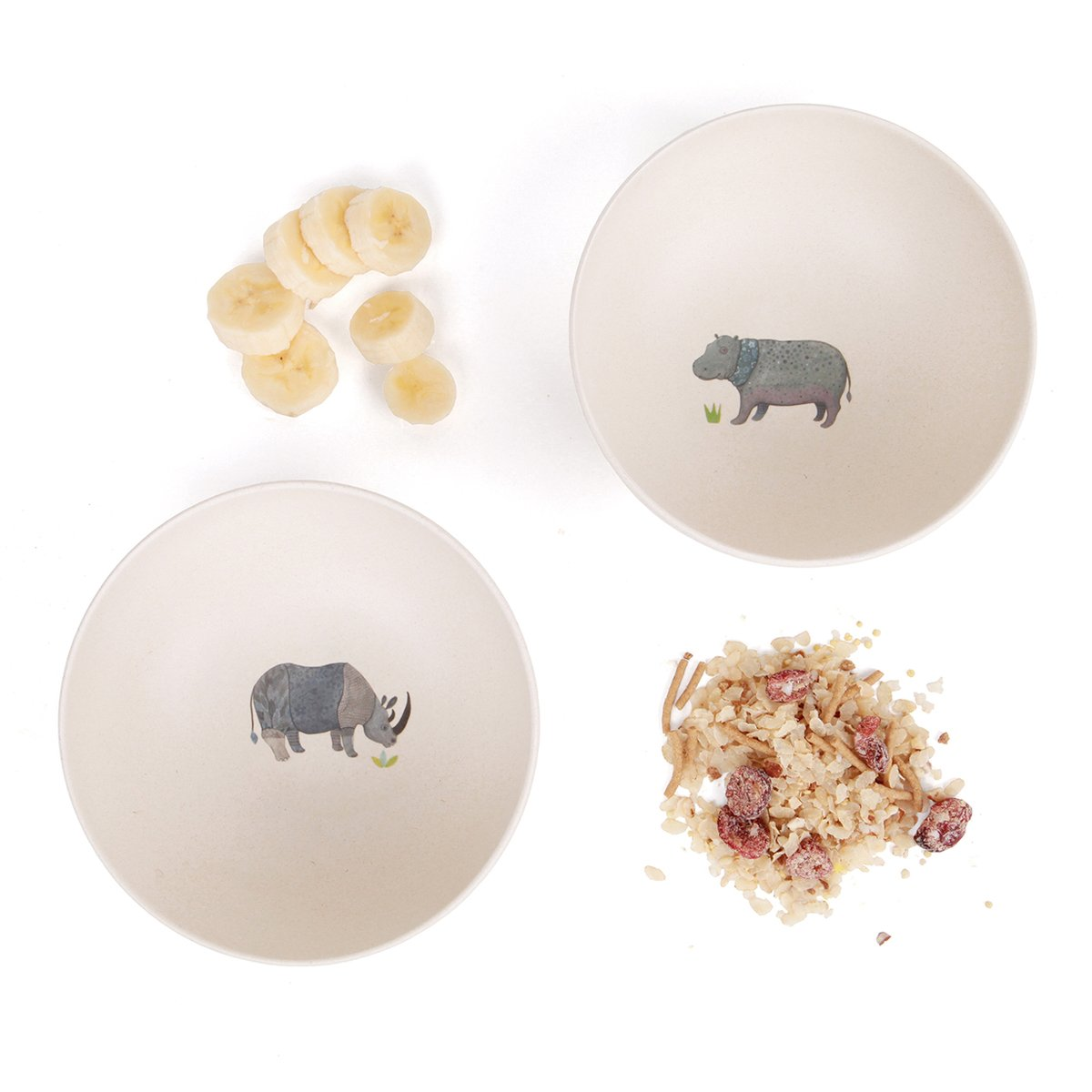 4 Safari bowls by Love Mae | LOVEThESIGN