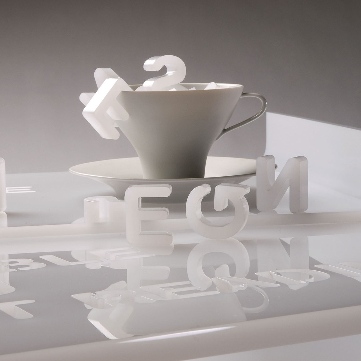 Letterpress Tray Coffee Table: Vox Mobili Coffee Table With Tray By Lettera G