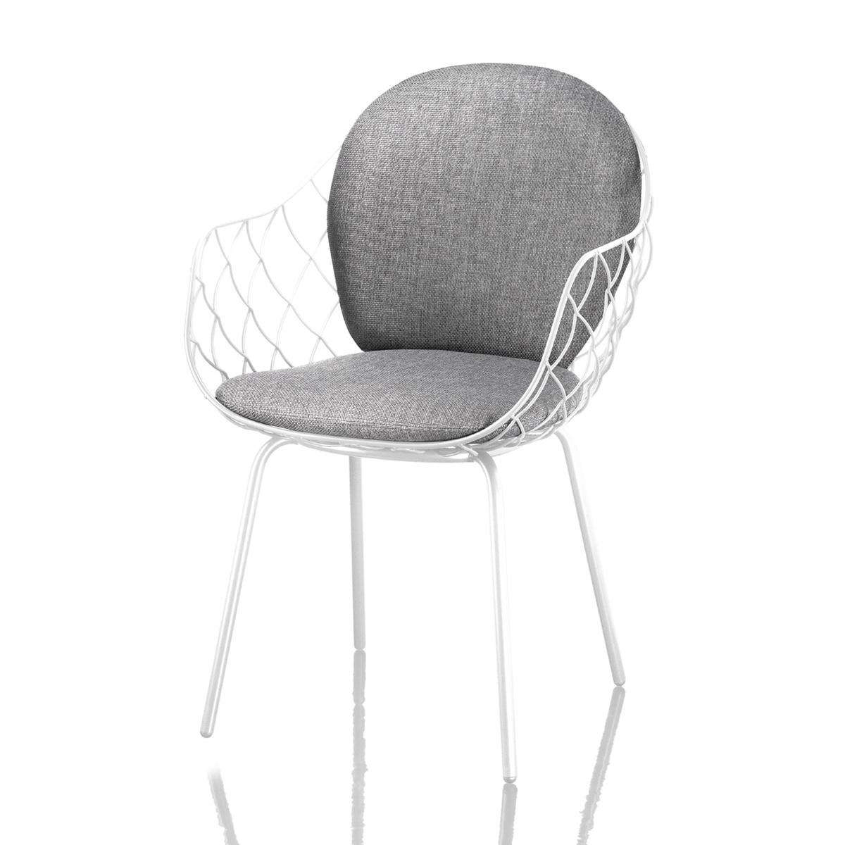 Sedia per esterni pi a con cuscini in tessuto by magis - Cuscini per sedia ...