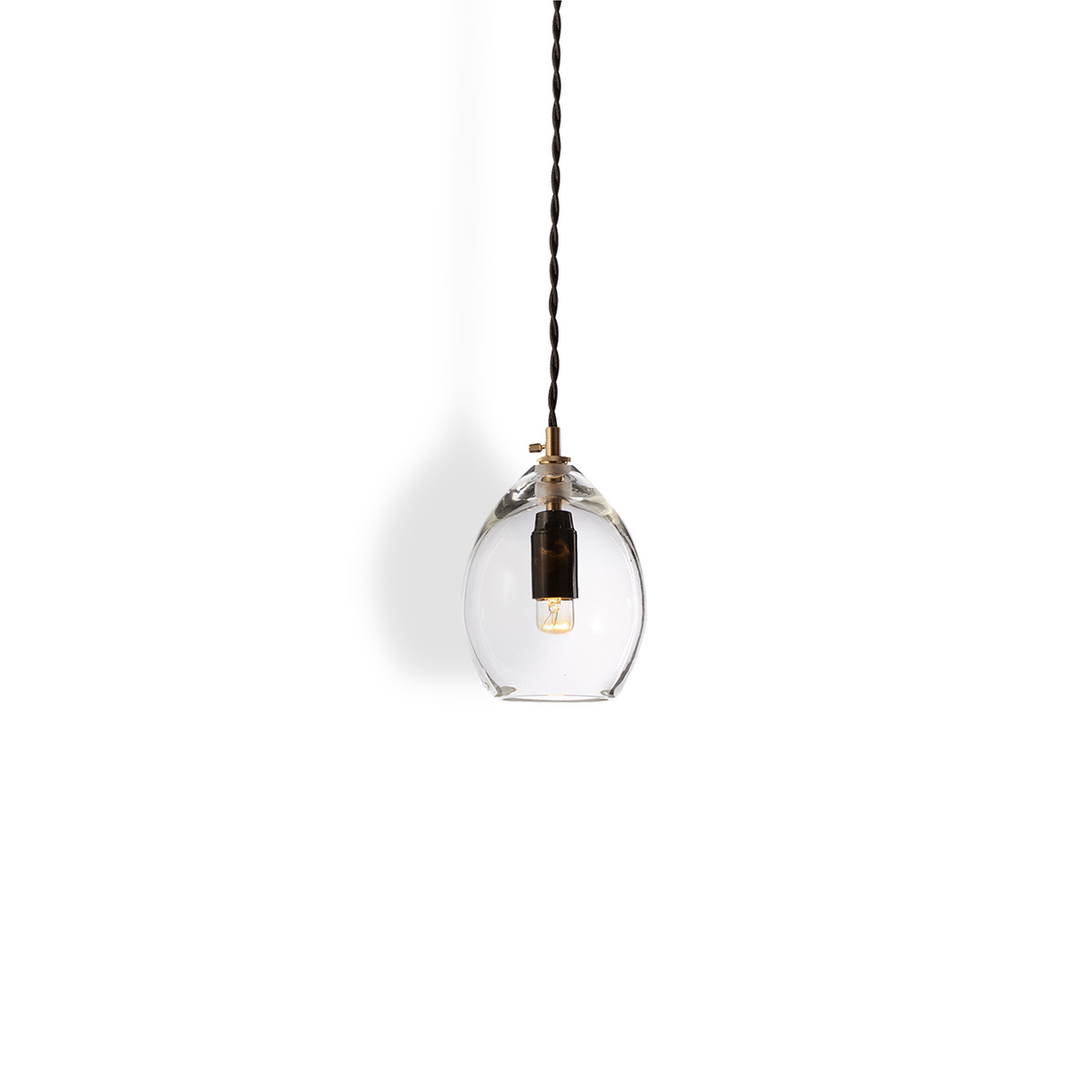 Suspension unika small transparente by northern lighting for Suspension transparente
