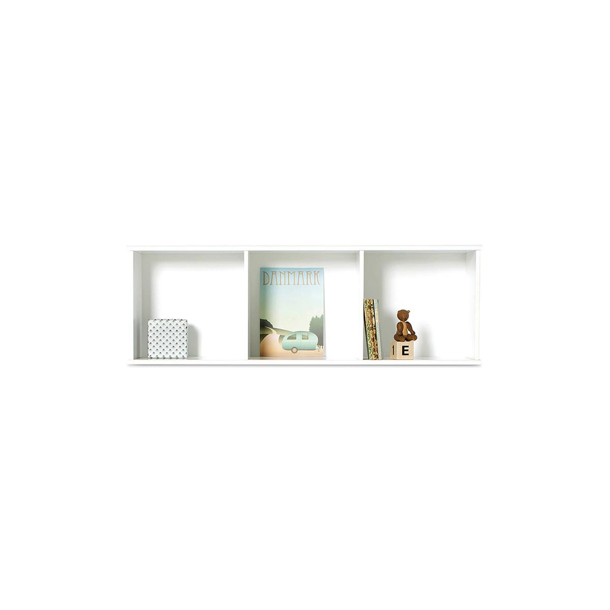 biblioth que horizontale de sol et murale wood 3x1 by. Black Bedroom Furniture Sets. Home Design Ideas