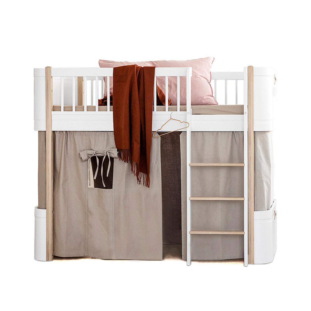 Tenda per letto a soppalco mini by oliver furniture lovethesign - Letto a soppalco amazon ...