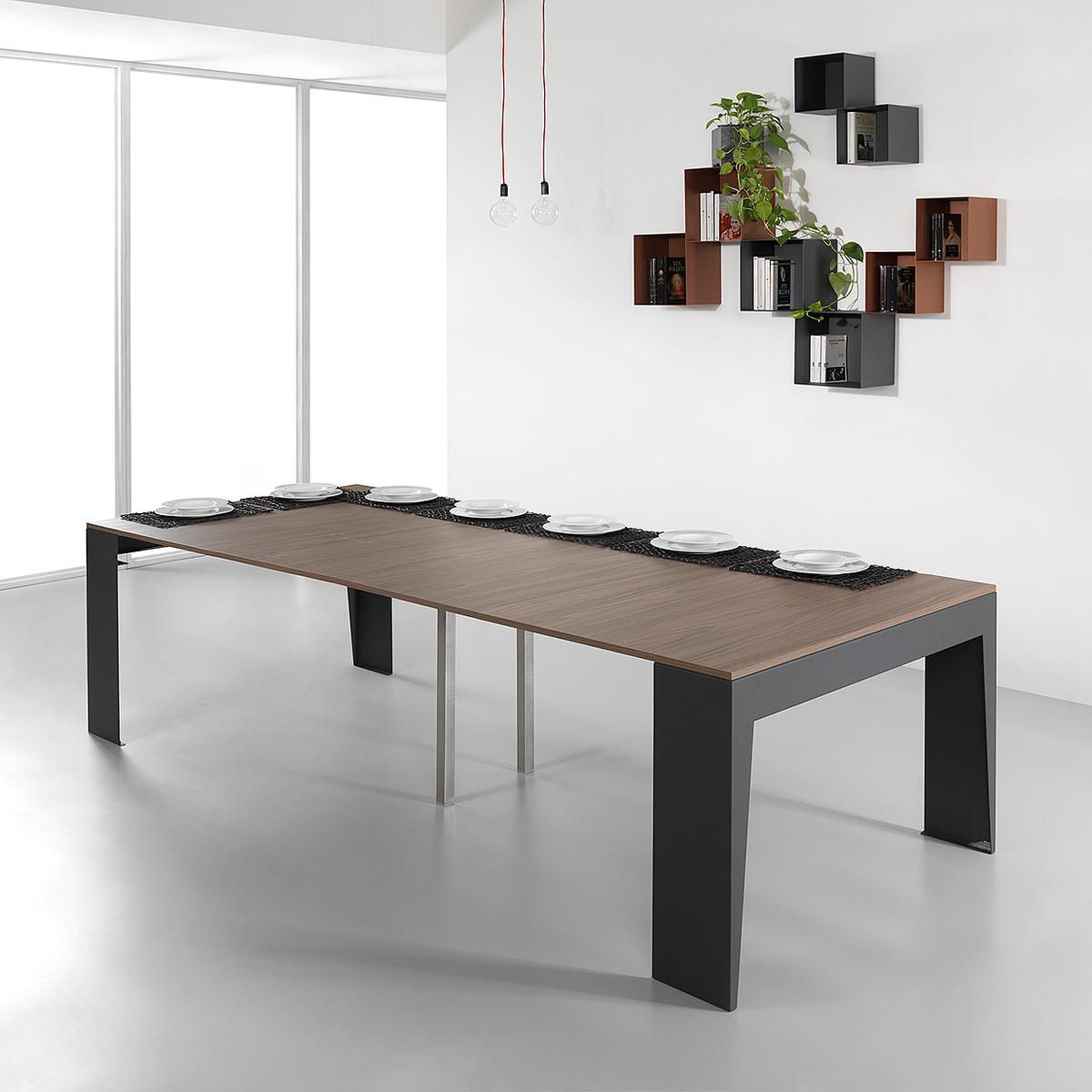Consolle allungabile marvel con larghezza 120 cm by pezzani lovethesign - Larghezza tavolo ...