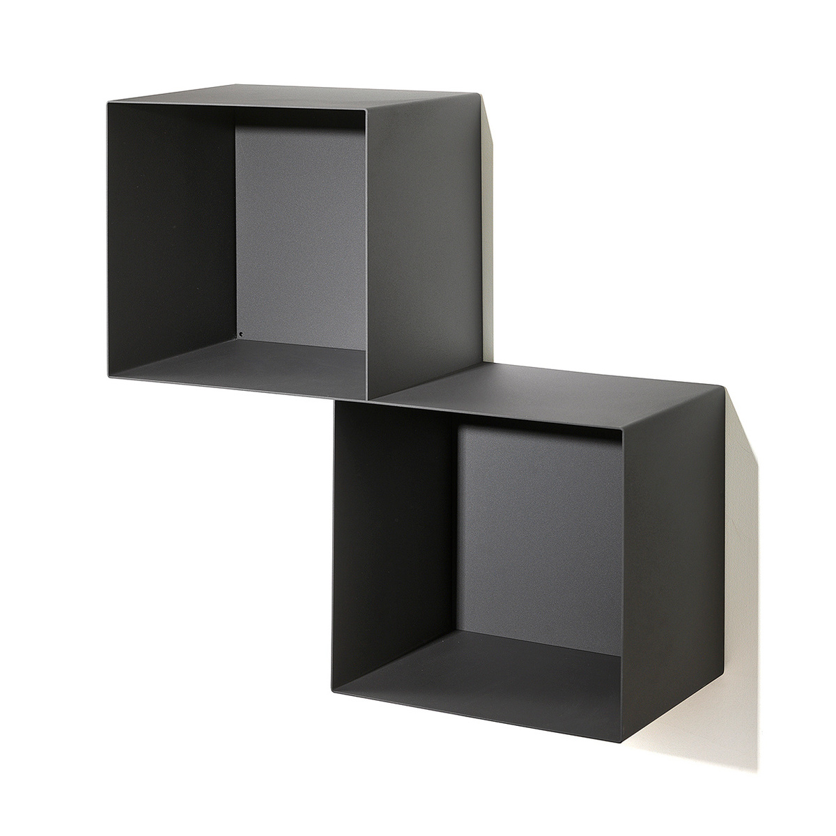 biblioth que modulaire mur twin h 60 cm by pezzani lovethesign. Black Bedroom Furniture Sets. Home Design Ideas
