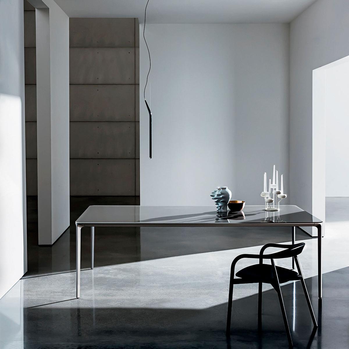 Tavolo rettangolare slim 240x100 by sovet italia lovethesign - Tavolo rettangolare ...
