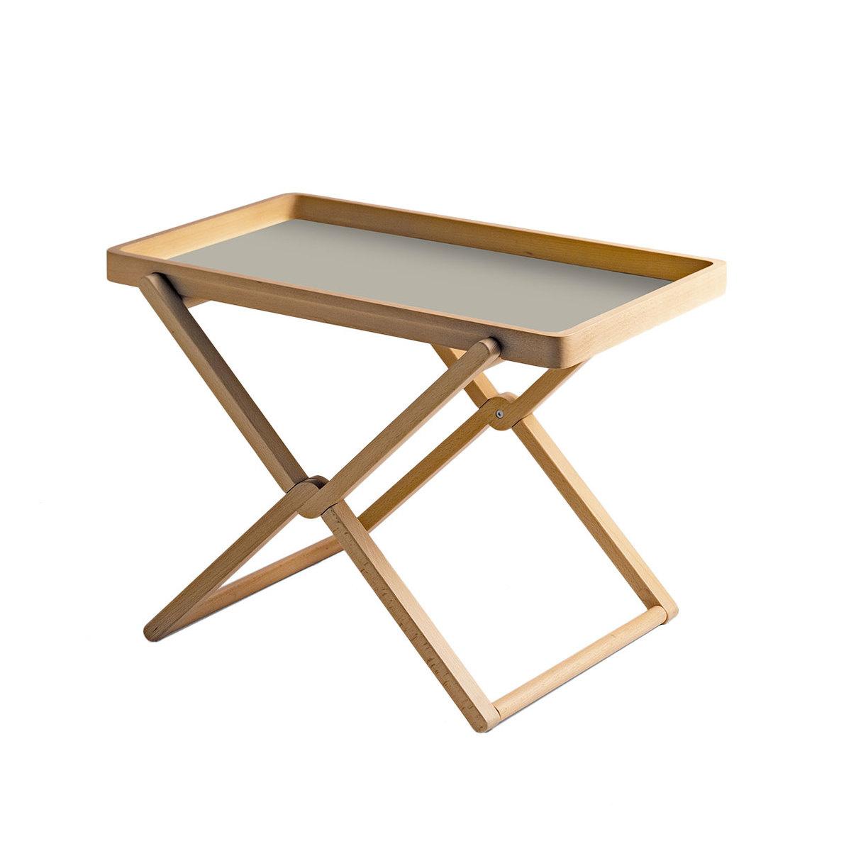 Tavolino pieghevole in faggio con vassoio by caon arreda - Ikea tavolino pieghevole ...