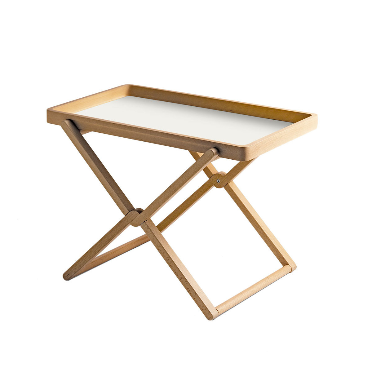 folding coffee table with tray beech wood by caon arreda. Black Bedroom Furniture Sets. Home Design Ideas