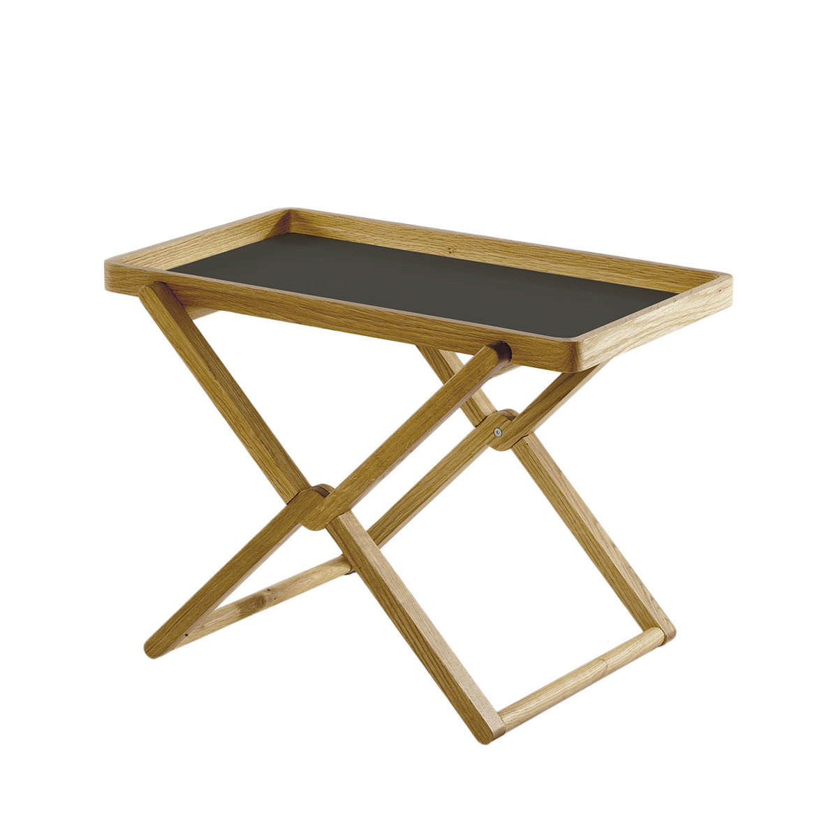 folding coffee table with tray oak wood lovethesign. Black Bedroom Furniture Sets. Home Design Ideas