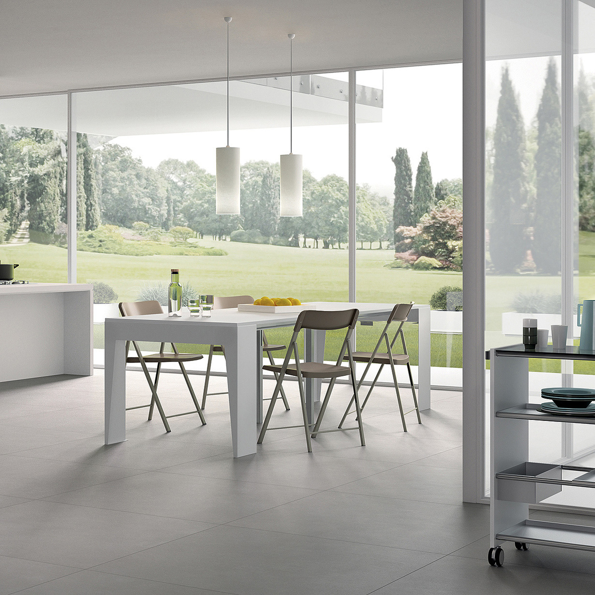 Tavolo consolle allungabile amazon idee per la casa - Ikea diva futura ...