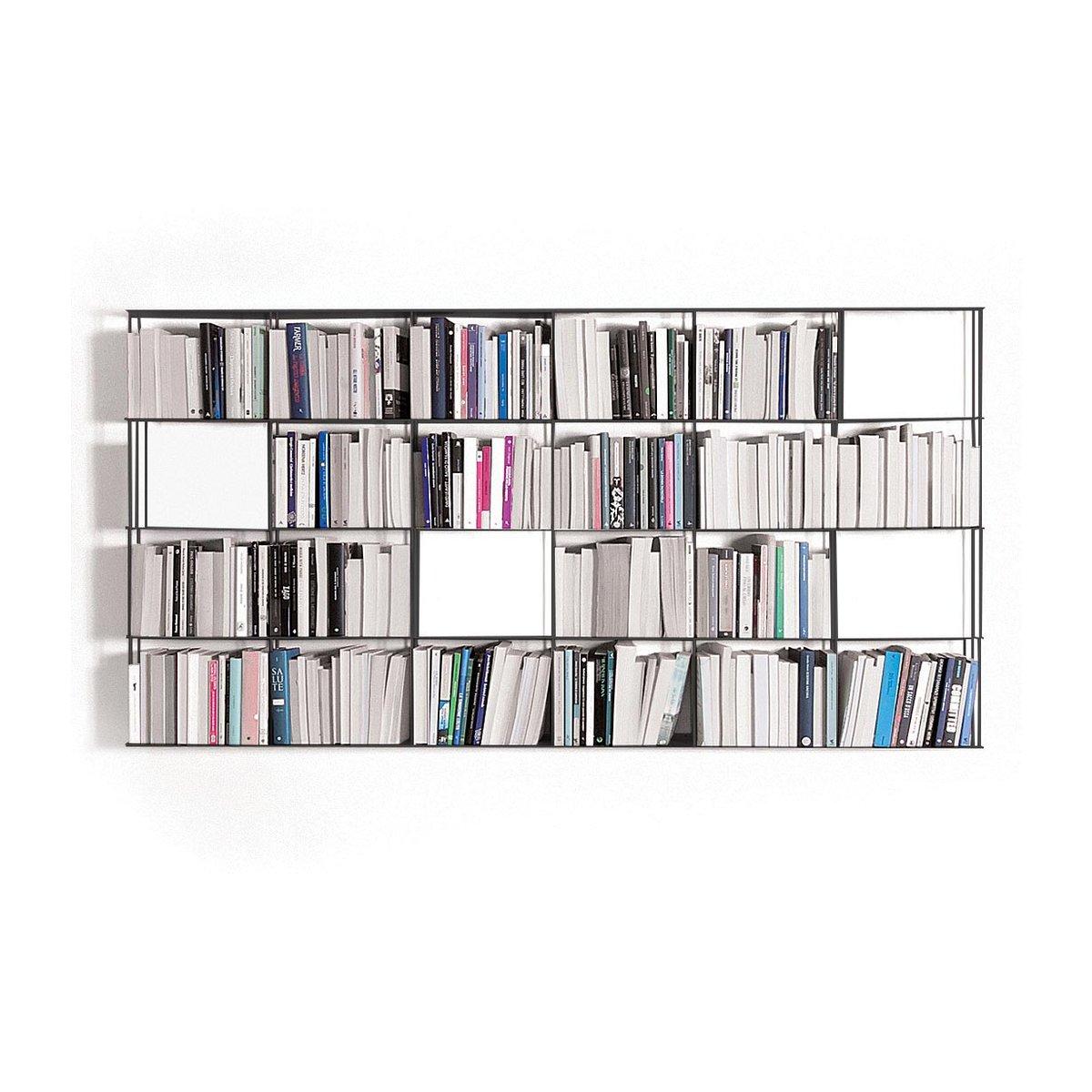 Libreria Profondità 15 Cm libreria da parete krossing 200xh100