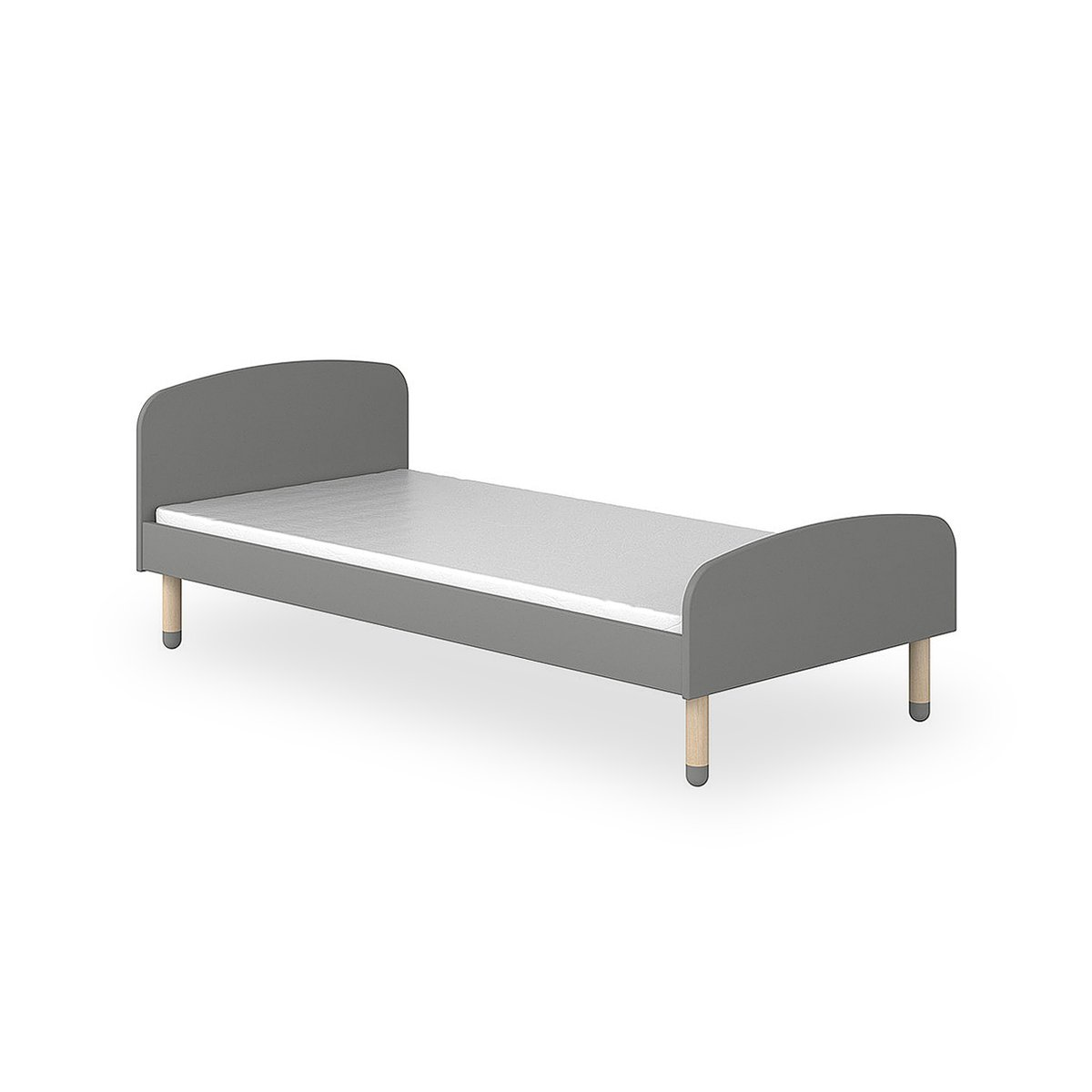 Chaise Longue Letto Singolo.Letto Singolo Play L 204 Cm By Flexa Lovethesign