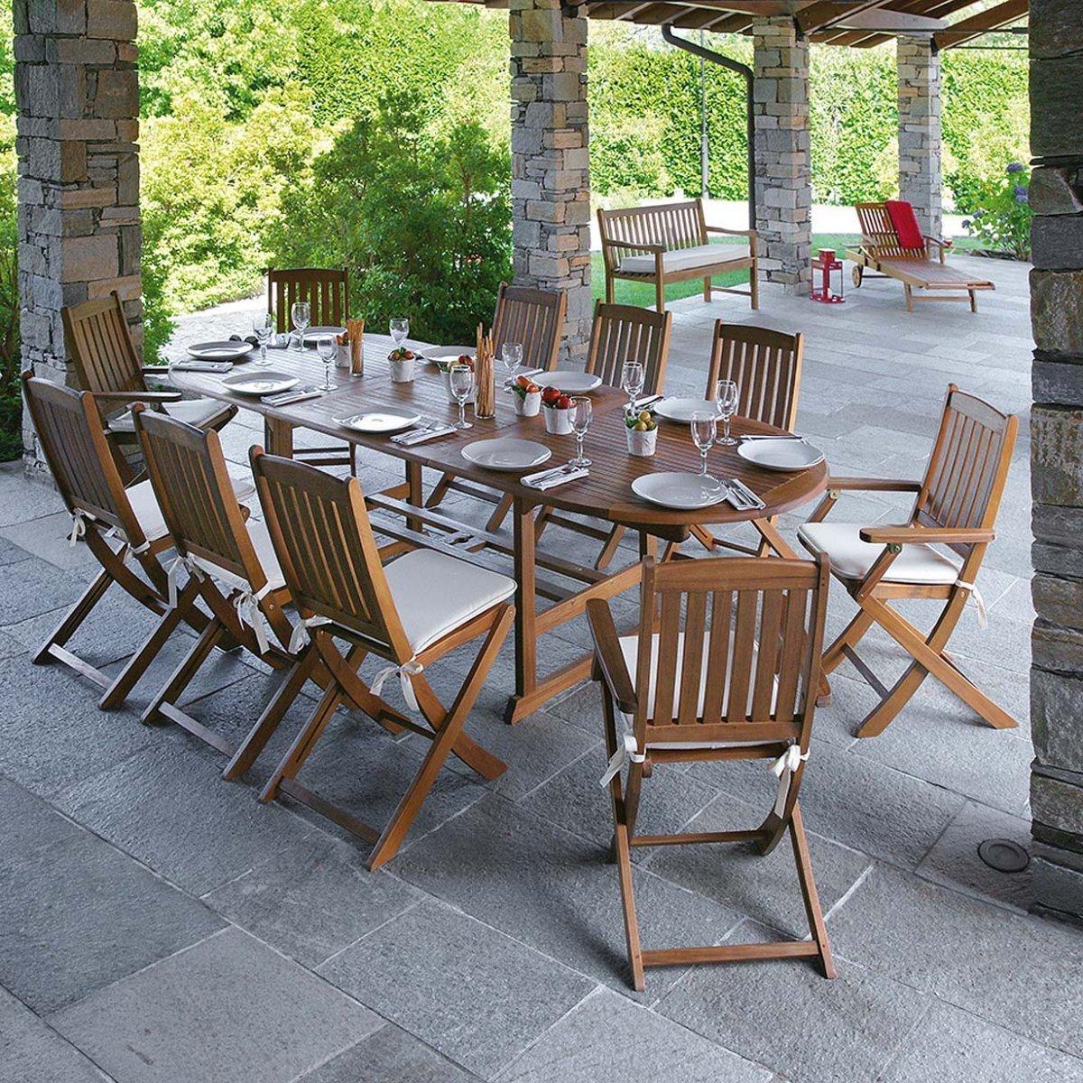 Greenwood Tavoli Da Giardino.Tavolo Da Giardino Malaga By Outdoor Selection Lovethesign