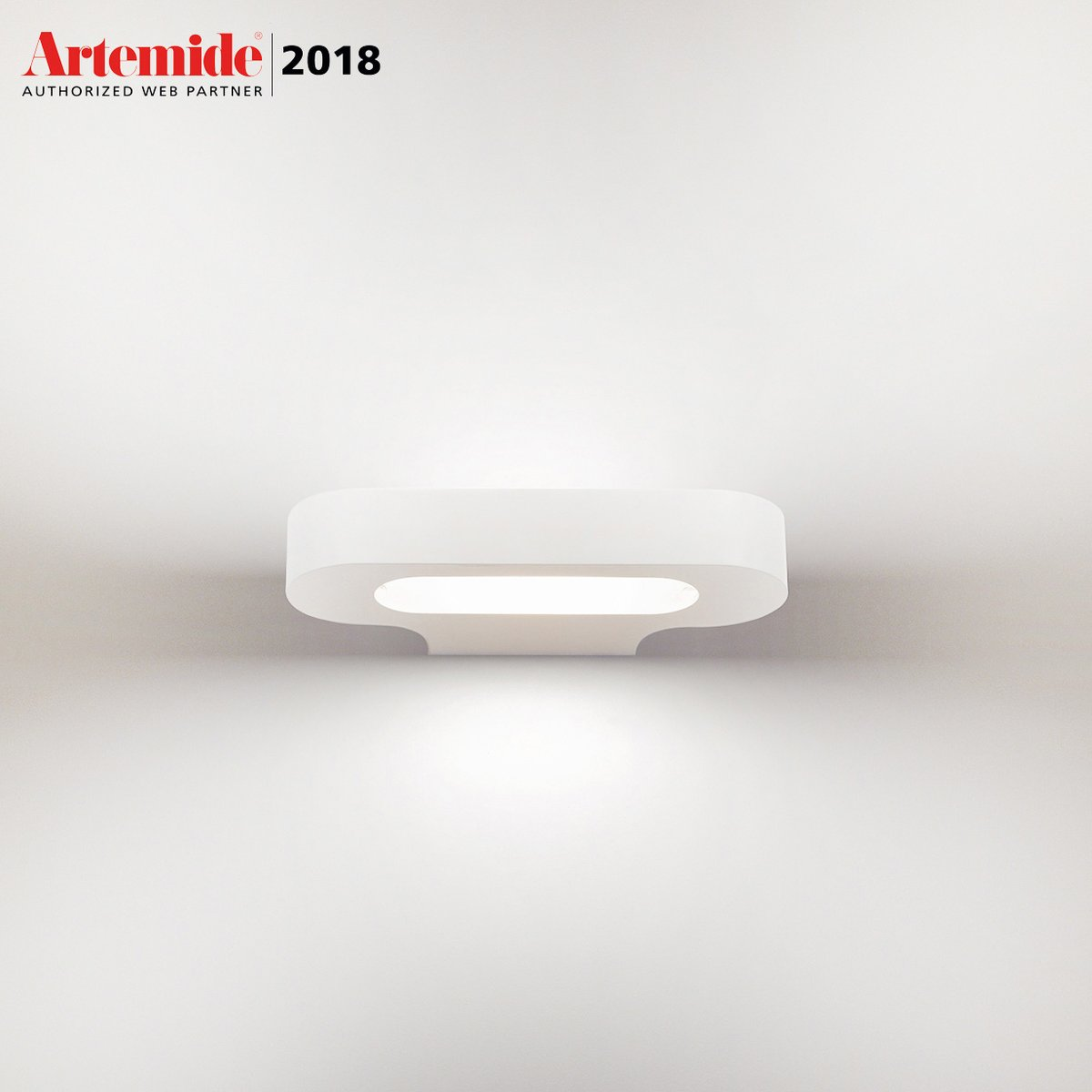 Applique Murale Talo Led Blanc By Artemide Lovethesign