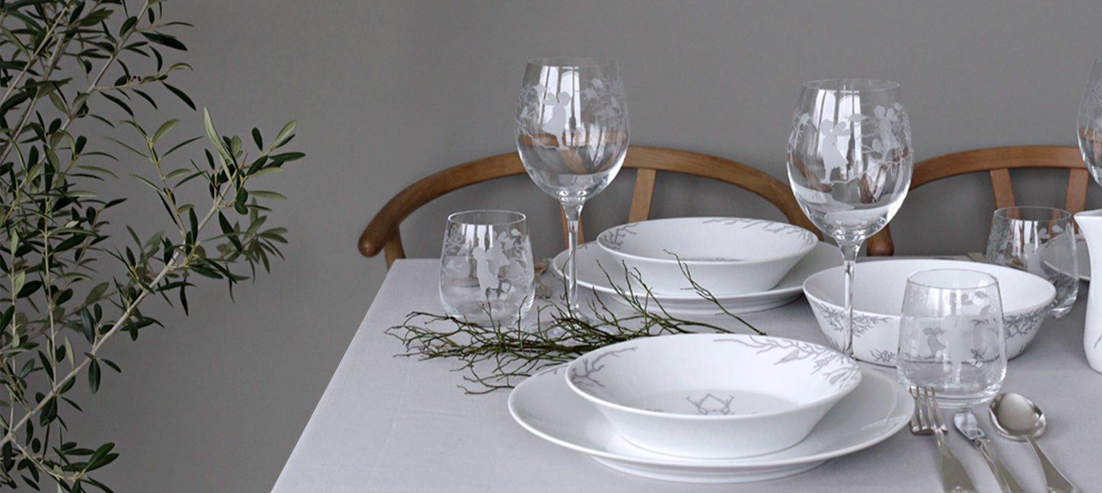 L'incanto della tavola natalizia