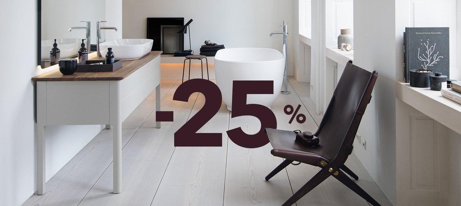-25% sul bagno dei tuoi sogni
