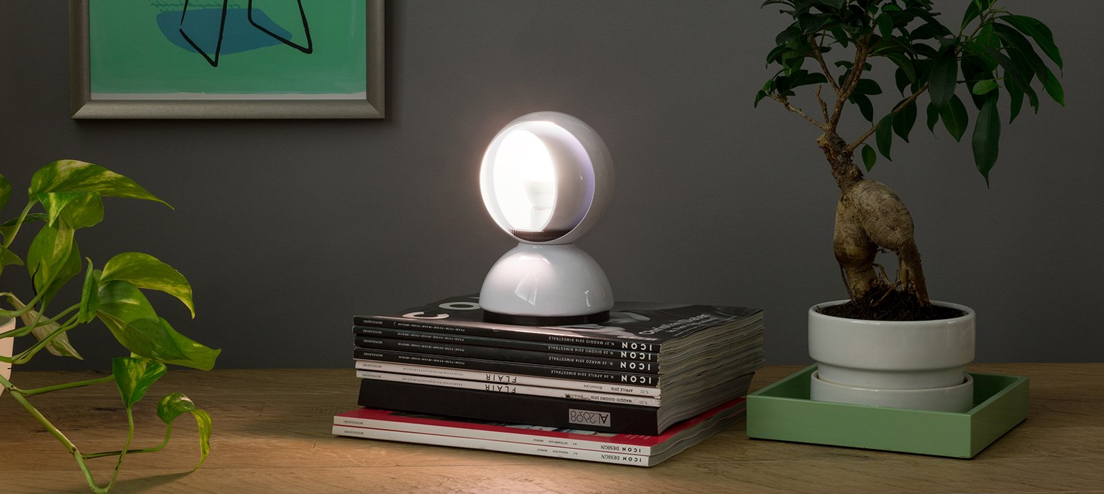 No solo luces, sino objetos luminosos