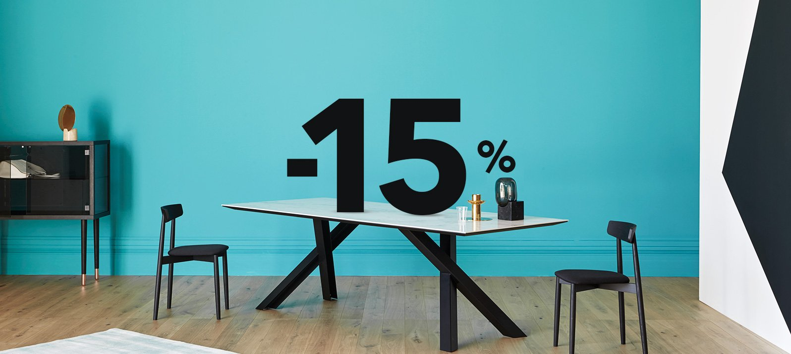 15% off your dream tables