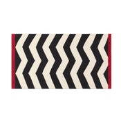 Tappeto Ikat Black And White - diverse dimensioni