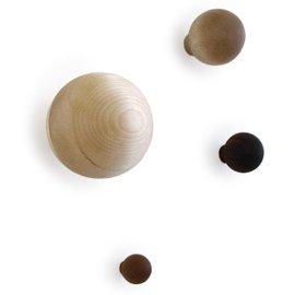 4 Appendiabiti da parete Bawl
