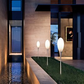 Spillo Peg outdoor floor lamp