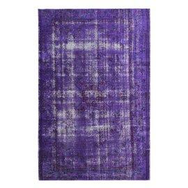 Vintage purple rug