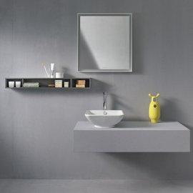 Mensola orizzonatale con tre scomparti L-Cube L 100 cm