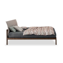 Legend King Size Bed in fabric Must 180x200