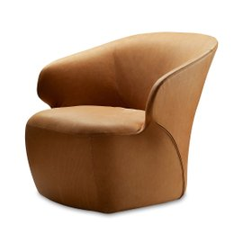 Poltroncina Arom in pelle