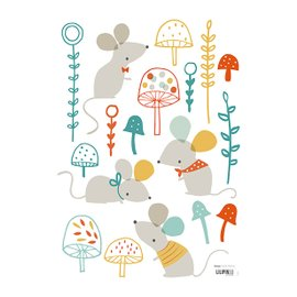Sticker Woodland Mice