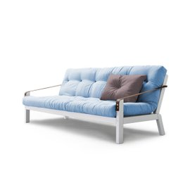 Poetry sofa-bed - White