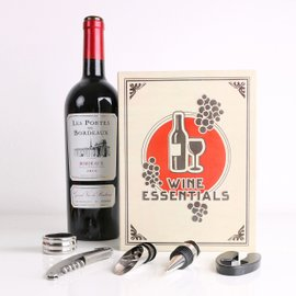 Kit da vino Wine Book - 5 pezzi