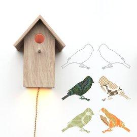 Lampada da parete Birdhouse
