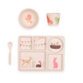 Tea Party Dinner Set - 4 pieces