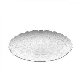 Vassoio rotondo Dressed diam. 26 cm - bianco