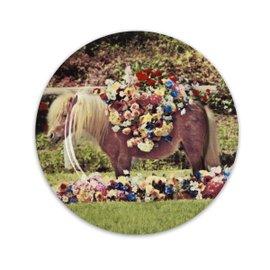 Pony dinner plate