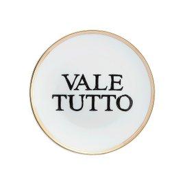 Piatto da dessert Vale Tutto Diam. 17 cm - La Tavola Scomposta