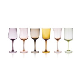 6 glasses Diseguale - assorted shapes