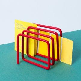 Portaposta Wire - Rosso