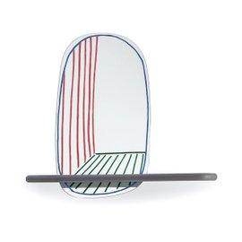 Mensola con specchio New Perspective Mirror