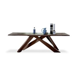 Tavolo Big Table L 300 con bordi naturali