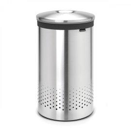 Portabiancheria Selector 60 litri con coperchio in metallo