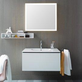 Specchio con illuminazione LED L-Cube L 80 cm