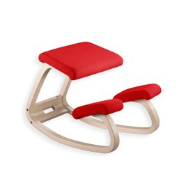 Variable Balans Step chair natural red