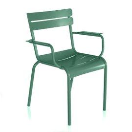 Sedia Impilabile con braccioli Luxembourg opaca