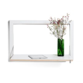 Fläpps wall desk - White