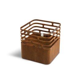 Barbecue Cube in acciaio Corten