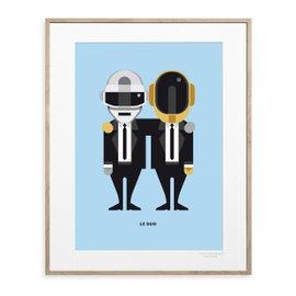 Stampa Daft Punk