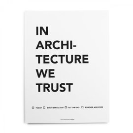 Affiche In Bauhaus we Trust
